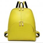 [ พร้อมส่ง Hi-End ] - กระเป๋าเป้แฟชั่น นำเข้าสไตล์เกาหลี สีเหลืองมะนาว ช่องใส่ของเยอะ ดีไซน์สวยเก๋เท่ๆไม่ซ้ำใคร สวยสุดมั่น เหมาะกับสาว ๆ ที่ชอบกระเป๋าเป้เท่ๆ งานเนี้ยบสวยมากค่ะ