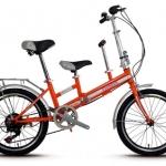 จักรยานพับได้20นิ้ว pioneer เหมาะสำหรับครอบครัว