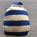 หมอนผ้าห่มCraftholicสีน้ำเงินเทา