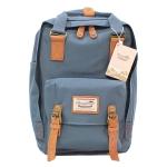 [ พร้อมส่ง ] - กระเป๋าเป้ Doughnut Macaroon Hong Kong canvas backpack #LAVENDER