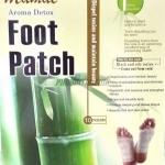 แผ่นแปะเท้า Aroma Detox Foot Patch