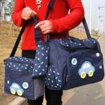 กระเป๋าคุณแม่ ใส่ของเด็กอ่อน Set สุดคุ้ม สีกรมท่า