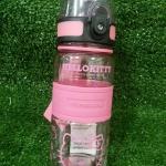 กระติกน้ำแบบยกดื่มลายคิตตี้สีชมพู