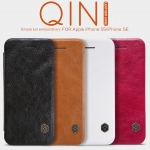 NILLKIN Thin Qin PU Leather Flip Pouch Cover Case For iPhone 5S/iPhone SE