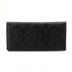 กระเป๋าสตางค์ผู้ชาย COACH MEN'S SIGNATURE BREAST POCKET LEATHER WALLET F75026 : BLACK