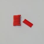 Connector Sata ตัวเมีย 180 สีแดง