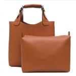 [ พร้อมส่ง ] - กระเป๋าแฟชั่น สีน้ำตาล สไตล์แบรนด์ ZARA ทรง Shopping Bag ใบใหญ่ ดีไซน์เรียบหรู โดดเด่นไม่ซ้ำใคร งานสวยเนี๊ยบค่ะ