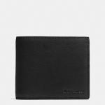 กระเป๋าสตางค์ผู้ชาย COACH COMPACT ID IN NOVELTY LEATHER F74980