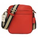 พร้อมส่ง กระเป๋าผู้ชาย COACH รุ่น FLIGHT BAG IN SMOOTH LEATHERHT BAG F71723 : ORANGE