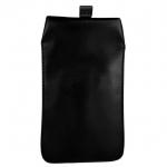 ซองหนังใส่ มือถือ Smartphone สีดำ