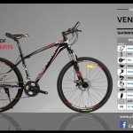 จักรยานเสือภูเขาอลูมิเนียม CARRERA VENTO 2.1