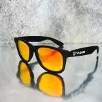 Release Sunglasses รุ่น : Seeker Black Golden Eyes Night Vision ( ขาสปริง )
