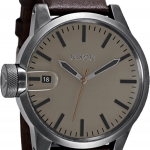 นาฬิกา Nixon Chronicle Watch in All Gunmetal / Brown / Taupe