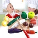 ชุดหั่นผักและผลไม้ สำหรับแม่ครัวตัวน้อย