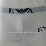 กางเกงในชาย Emporio Armani Boxer Briefs : สีขาว ลายทางด้านข้าง
