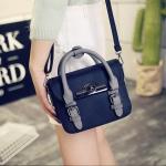 [ พร้อมส่ง ] - กระเป๋าแฟชั่น ถือ&สะพาย สีดำคลาสสิค ไซส์ MINI ทรงตั้งได้ หัวบิดเปิดกระเป๋า ดีไซน์สวยเก๋ โดดเด่นไม่เหมือนใคร พกพาสะดวก งานหนังอย่างดี