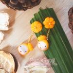 Pupa gang Thai dessert : Thong ake (ทองเอก)