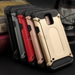 Rugged Hybrid Dual Layer Armor Case Cover For Samsung Galaxy S5