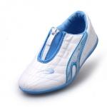 รองเท้ากีฬาเด็ก ทรงเท่ สีฟ้าขาว Size 26-30