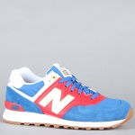 รองเท้า  New Balance The Olympic Collection 574 Sneaker in Blue