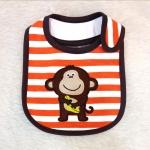 ผ้ากันเปื้อน Carter 's ลายลิงถือกล้วย
