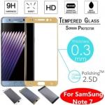 - ฟิลม์กันรอย กระจกนิรภัย ลงโค้งเต็มจอ สำหรับ Samsung Galaxy Note 7