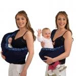 เบบี้สลิง เป้อุ้มให้นมทารก 2 in 1 Baby Sling (0m+)