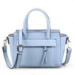 [ พร้อมส่ง Hi-End ] - กระเป๋าแฟชั่น  นำเข้าสไตล์เกาหลี สีฟ้าสุดชิค ดีไซน์แบรนด์ดังแบบยุโรป งานหนังคุณภาพ เหมาะสำหรับสาวๆ ดูไฮโซสุดๆน่าใช้