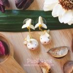 Pupa gang Thai dessert : Kleeb lumduan (กลีบลำดวน)