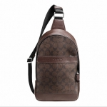 กระเป๋าผู้ชาย COACH CAMPUS PACK IN SIGNATURE F72043 : MAHOGANY