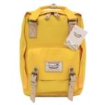 [ พร้อมส่ง ] - กระเป๋าเป้ Doughnut Macaroon Hong Kong canvas backpack #YELLOW