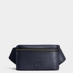 กระเป๋าผู้ชาย COACH CAMPUS SLING IN REFINED PEBBLE LEATHER F71902 : MIDNIGHT
