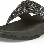 รองเท้า FitFlop Limited Edition Rock Chic Sandals - Pewter Size 10