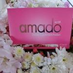 Amado อาหารเสริม อมาโด้ ราคาส่ง xxx อาหารเสริมสำหรับผู้หญิง กล่องละ 30 เม็ด แท้100% ส่งฟรี EMS