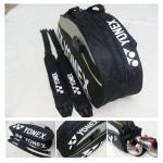 กระเป๋าแบดมินตัน รุ่น 9620 BLACK
