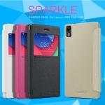 เคส Lenovo Vibe Shot Z90 Sparkle Leather Case NILLKIN แท้ !!