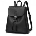 [ พร้อมส่ง ] - กระเป๋าเป้แฟชั่น สไตล์เกาหลี สีดำคลาสสิค ใบกลาง ดีไซน์สวยเก๋เท่ๆ เหมาะสำหรับสาวๆ ที่ชอบเป้เก๋ๆ โดดเด่นไม่ซ้ำใคร