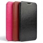 Case For Samsung Galaxy E7 รุ่น Smart case หนังมัน
