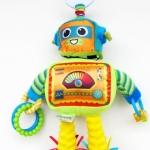ตุ๊กตาโมบายหุ่นยนต์ผ้า Lamaze เสริมพัฒนาการ