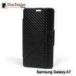 เคส Samsung Galaxy A7 รุ่น Onjess Tranformer ลายแคฟล่าสีดำ
