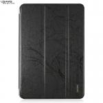 USAMS Leather Stand Wake/Sleep Smart Cover Case For Apple iPad mini 2 retina สีดำ