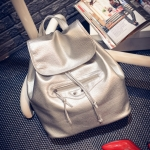 [ พร้อมส่ง ] - กระเป๋าเป้แฟชั่น นำเข้าสไตล์เกาหลี สีบรอนซ์ทองแดง สุดเท่ ดีไซน์สวยเก๋ไม่ซ้ำใคร สวยสุดมั่น เหมาะกับสาว ๆ ที่ชอบกระเป๋าเป้ใบกลางค่ะ