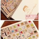 ตัวแสตมป์ Diary Stamp Set 40 ชิ้น