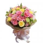 ช่อดอกไม้ สีสดใส เหมะสำหรับทุกโอกาส