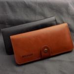Meixin กระเป๋าสตางค์หนัง ใส่มือถือ