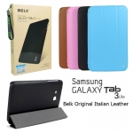 "Belk Original Italian Leather Case For Samsung Galaxy Tab 3 Lite 7"" T110 T111"