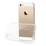 GOOSPERY Clear Jelly Rubber TPU Bumper Case Cover for iPhone 5/5S/SE
