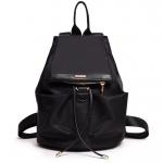 [ พร้อมส่ง ] - กระเป๋าเป้แฟชั่น สไตล์เกาหลี สีดำ สุดชิค น้ำหนักเบา พกพาง่าย ดีไซน์สวยเก๋ ไม่ซ้ำใคร เหมาะกับสาว ๆ ที่เน้นความคล่องตัว