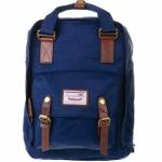 [ พร้อมส่ง ] - กระเป๋าเป้ Doughnut Macaroon Hong Kong canvas backpack #BLUEBERRY