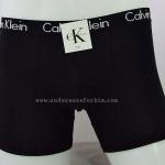 กางเกงในชาย Calvin Klein Boxer Briefs : สีดำ ขอบดำCK